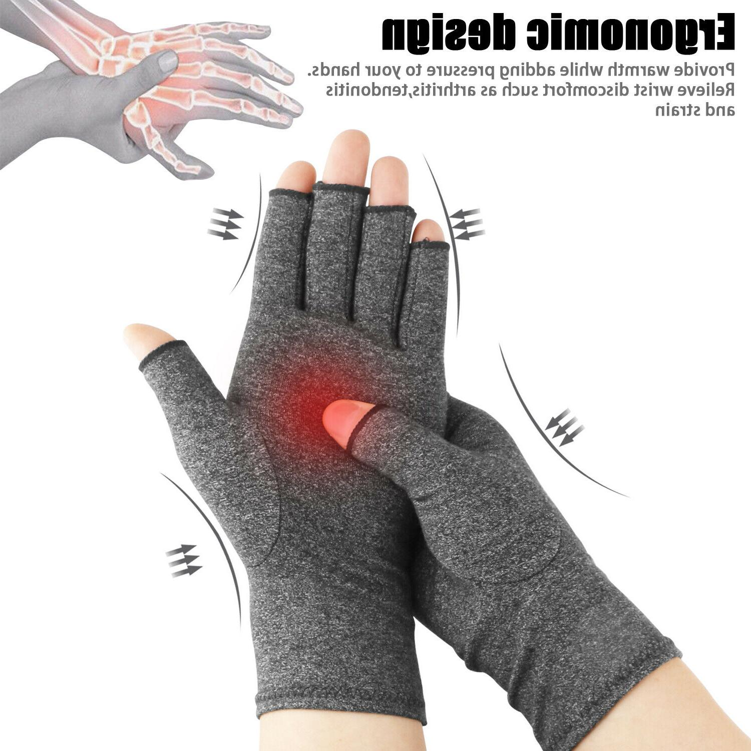 compression gloves arthritis pain relief carpal tunnel
