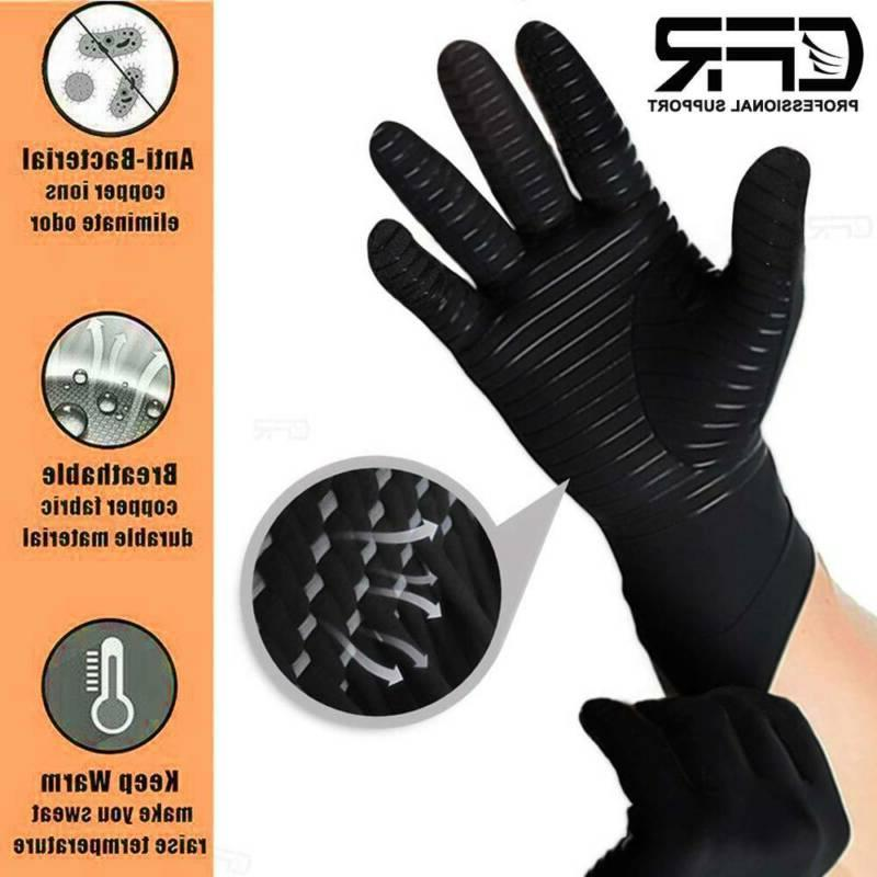 Copper Infused Arthritis Gloves Pain Relief Hand