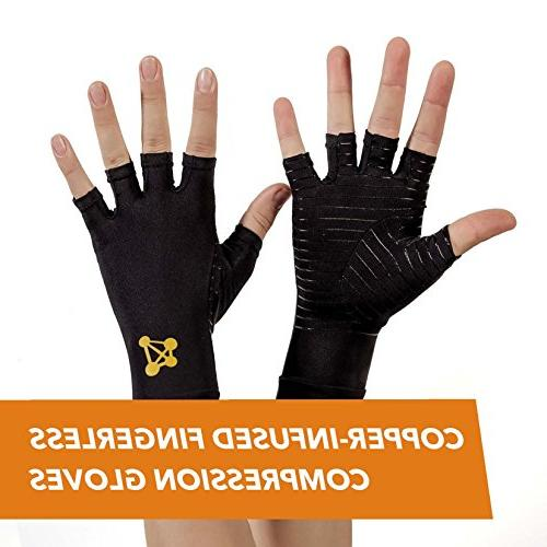 copperjoint arthritis gloves infused compression