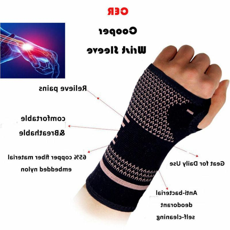 Copper Compression Sleeve Carpal