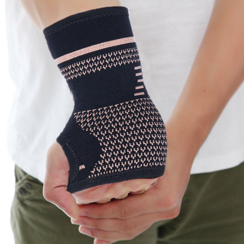 Copper Support Compression Sleeve Arthritis Fit Carpal Hand