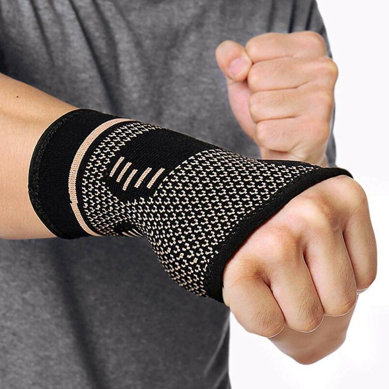 Copper Support Compression Sleeve Carpal
