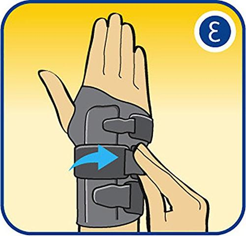 Futuro Energizing Helps Relieve Carpal Stabilizing Support, Small/Medium,