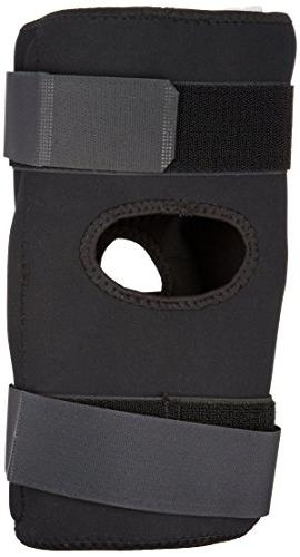 RolyanFit Wraparound Hinged Brace, Comfort Support & for Right or Leg, Supports Muscles Sports Low Secure XX-Large