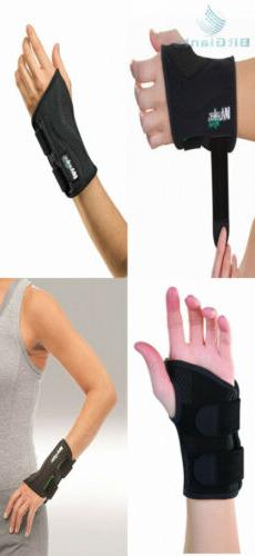 fitted wrist brace black right hand small