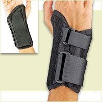 Florida Orthopedics Prolite Low Profile Wrist Splint, Black,
