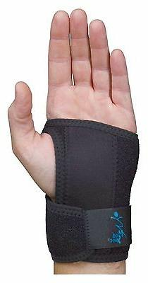 Med Spec GelFlex Wrist Support - Black - All Sizes