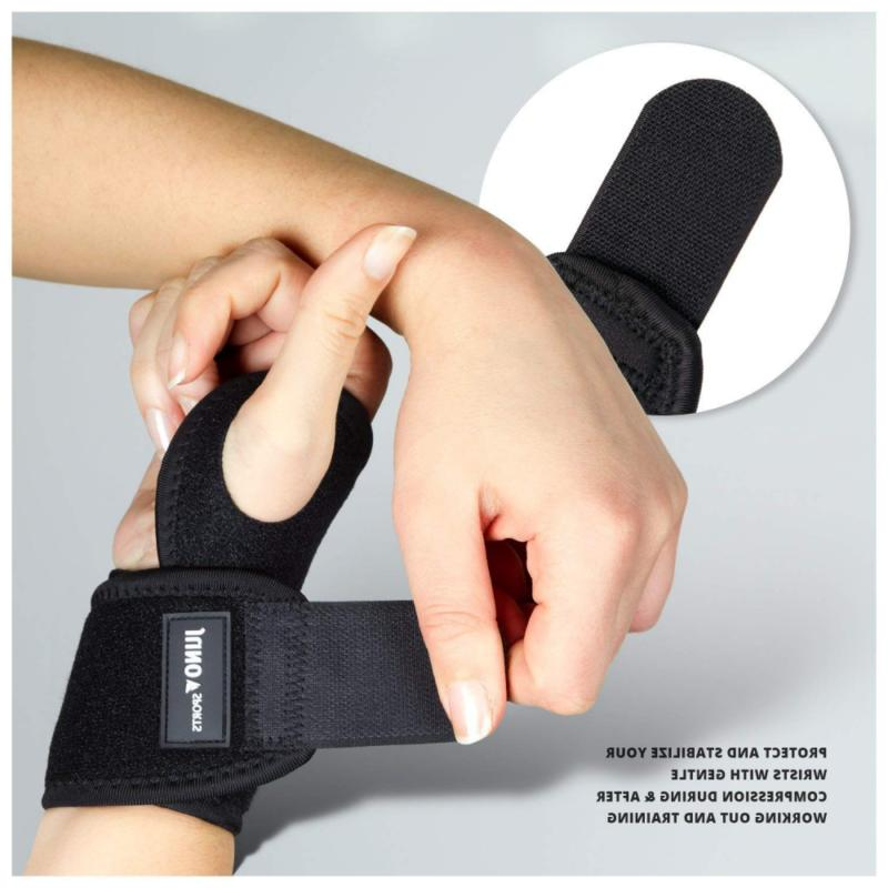 JunoSports Adjustable Wrist Brace Support