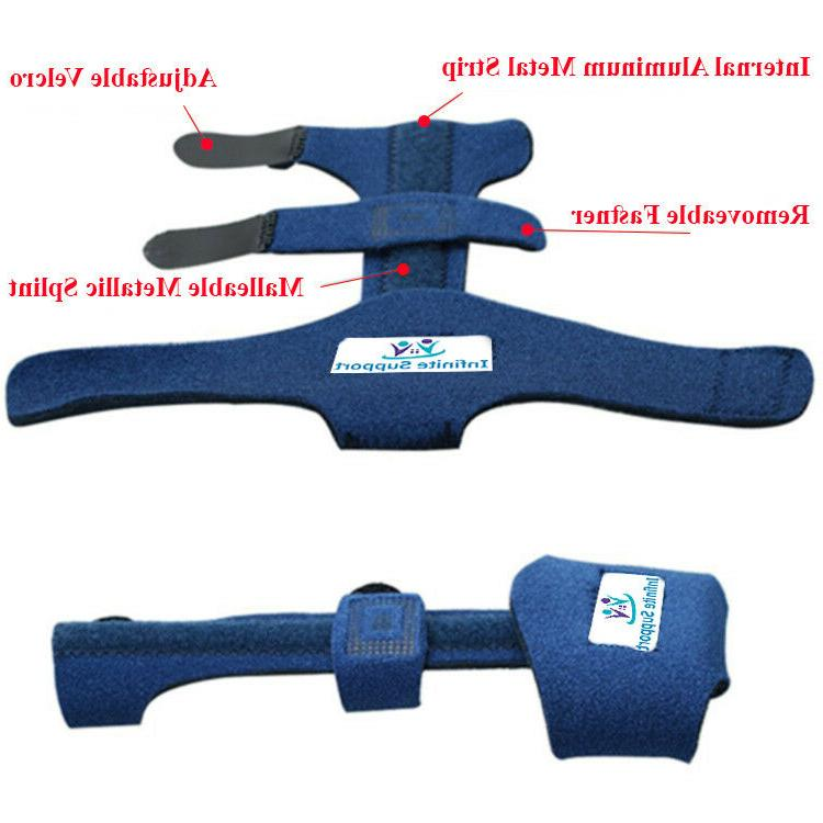 Infinite Support Malleable Finger Splint Brace