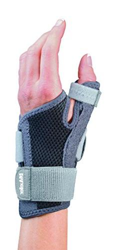 Mueller Sports Medicine Adjust-to-Fit Thumb Stabilizer, Gray