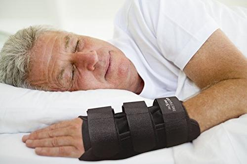 Carpal Tunnel Night Wrist Brace for Right Hand By Solutions- Cubital Wrist &