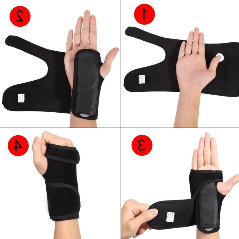Orthopedic Hand Bandage Brace Wrist Support Fingers Carpal TS