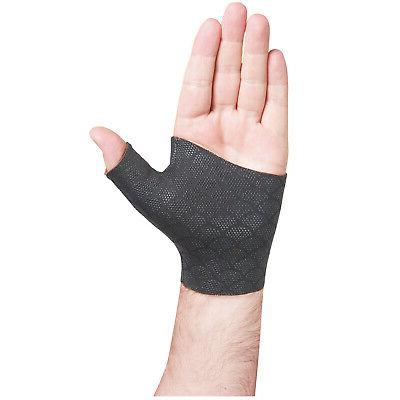 inc thermoskin thumb wrist brace fingerless pain