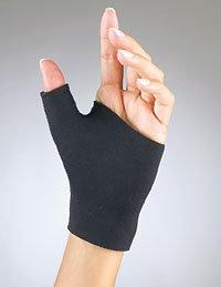 FLA Orthopedics Prolite Neoprene Pull on Thumb Support, Blac