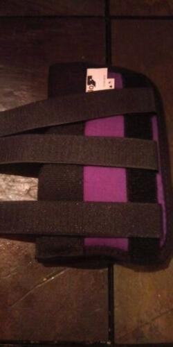Rolyan Purple D-Ring Left Wrist Brace, Size Medium Fits Wris