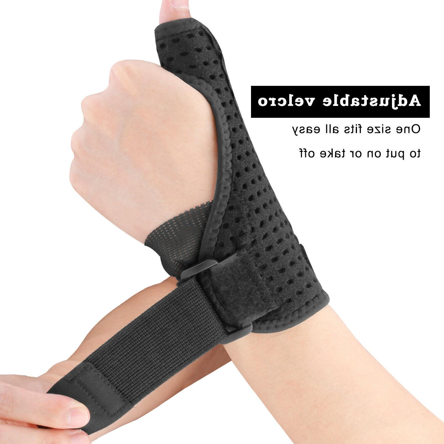 Right Hand Carpal Support Splint Relief