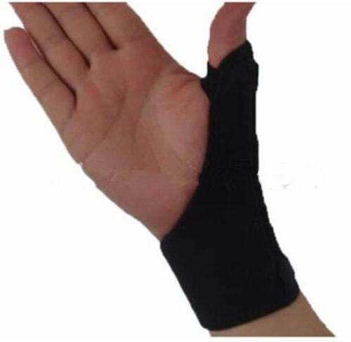 sports thumb loop finger wrist support strap