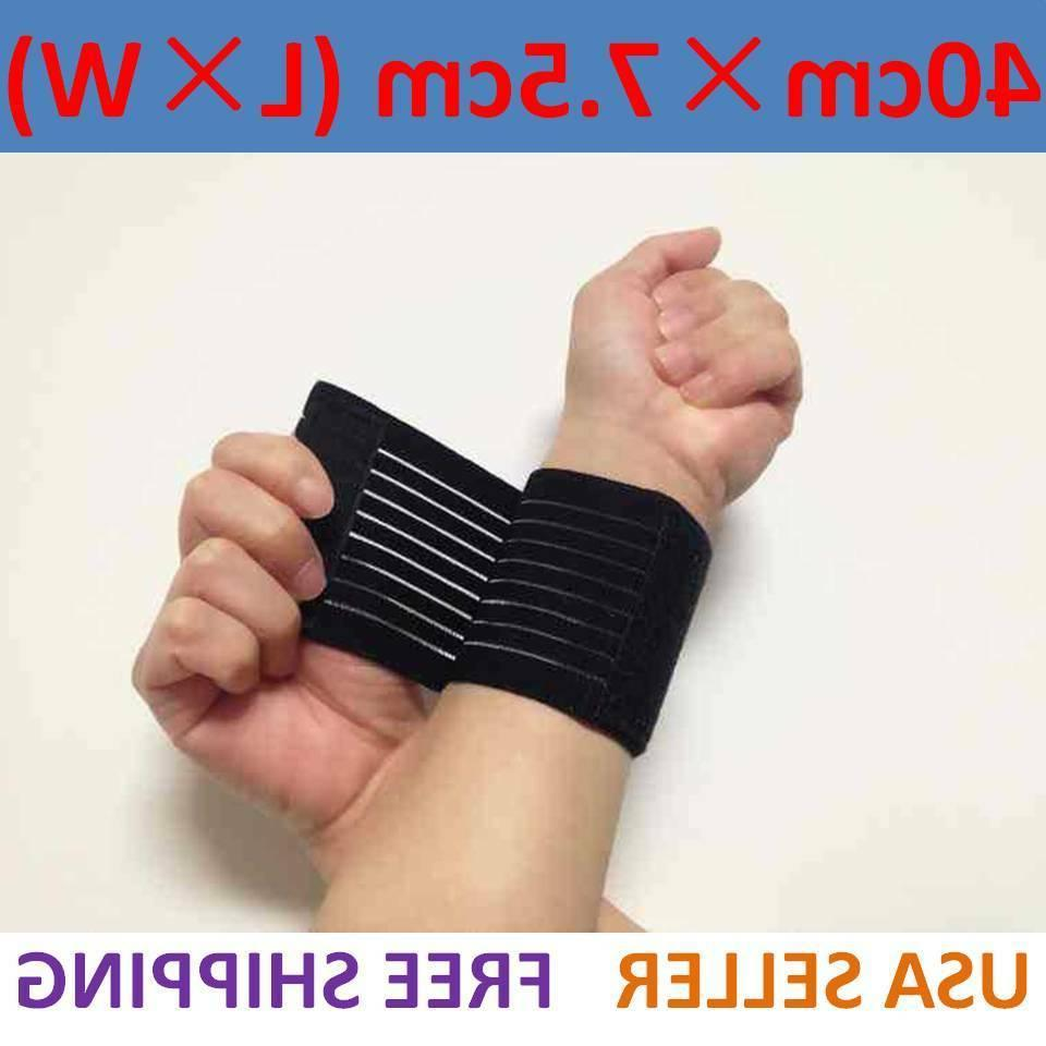 sports wrist band brace wrap adjustable support