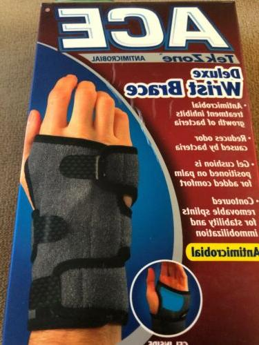 Ace TekZone Deluxe Wrist Brace-Antimicrobial S/MD- Left Hand