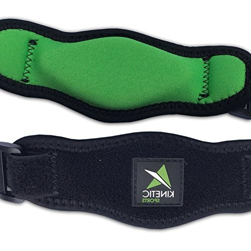 Tennis Compression – Adjustable Counter-Force Support for Tennis & Golfers Tendinitis, & Medial Epicondylitis Pain Bonus