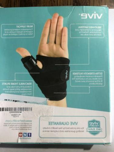 Vive Thumb Hand Brace For Pain Brand