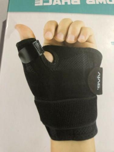 Vive Thumb Splint Hand Brace For Sprains NEW