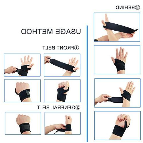 ZingineW Wrist Brace,Wrist Support, Adjustable Straps, Wrist Sports,