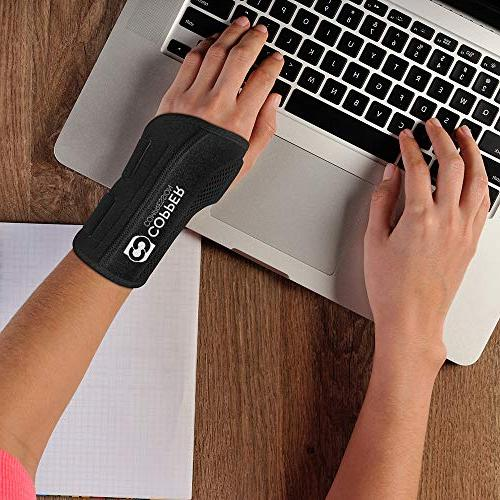Copper - Highest Content Support for Wrists, Carpal Night and Day Splint Men Women Fit for and Left