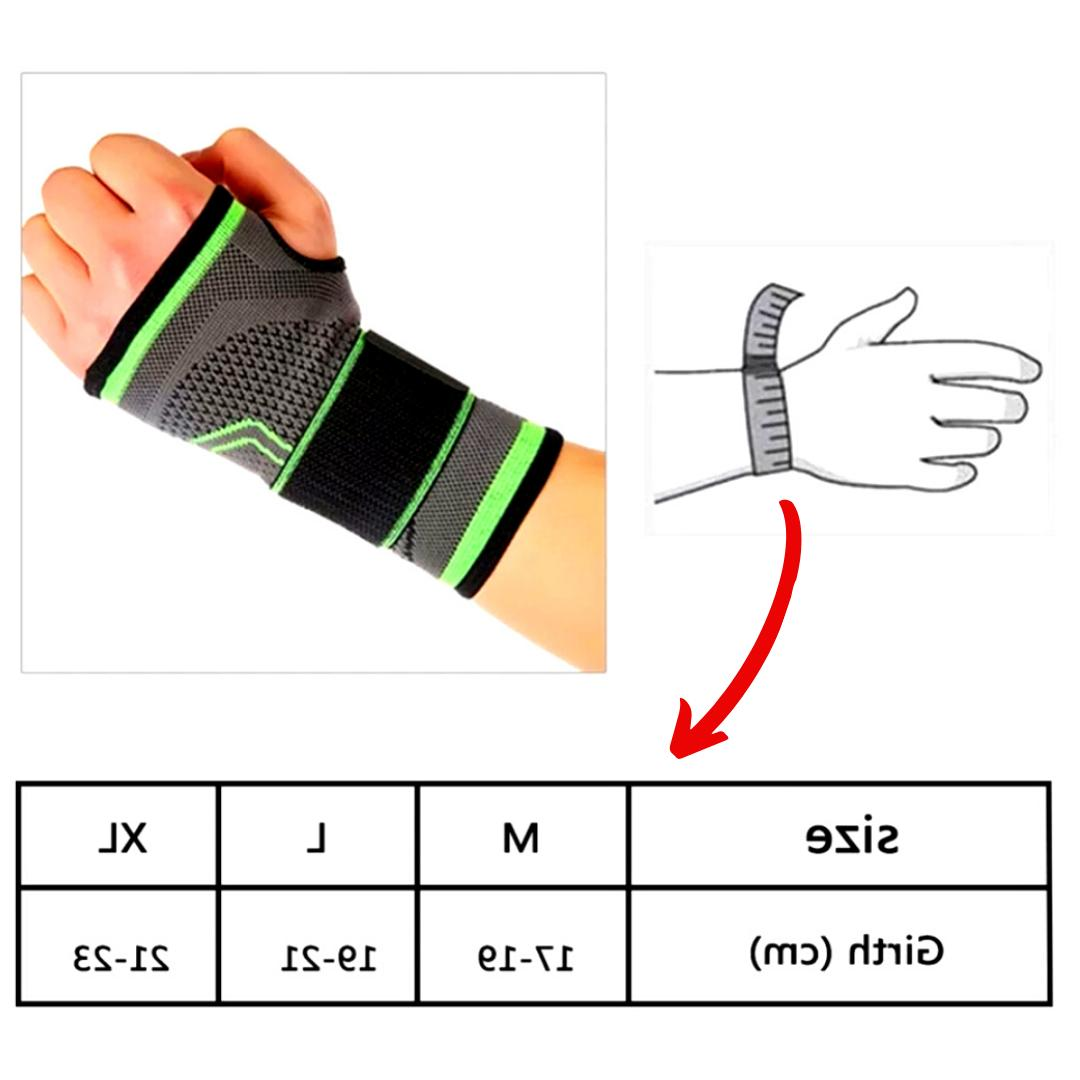 Wrist Brace Support Gloves Tunnel