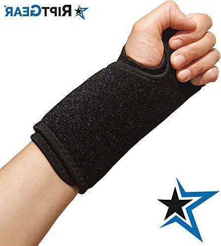 RiptGear for Women and Adjustable Support Carpal Syndrome, - Reinforced