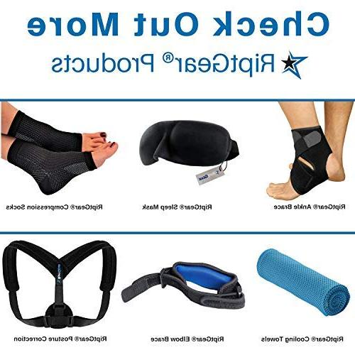 RiptGear Wrist for Women Adjustable Support with Splint Sprains, Carpal Tunnel - Reinforced Construction Wrist Hand