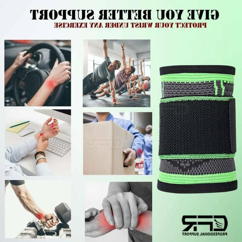 Wrist Support Carpal Tunnel Straps Band