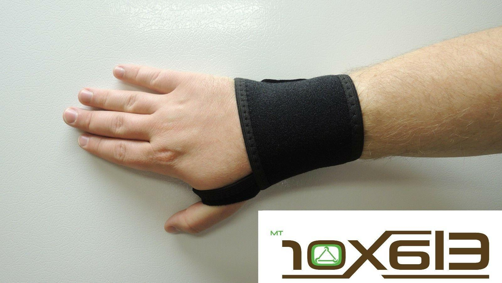 Wrist Brace Support Tunnel Hand Band One Size