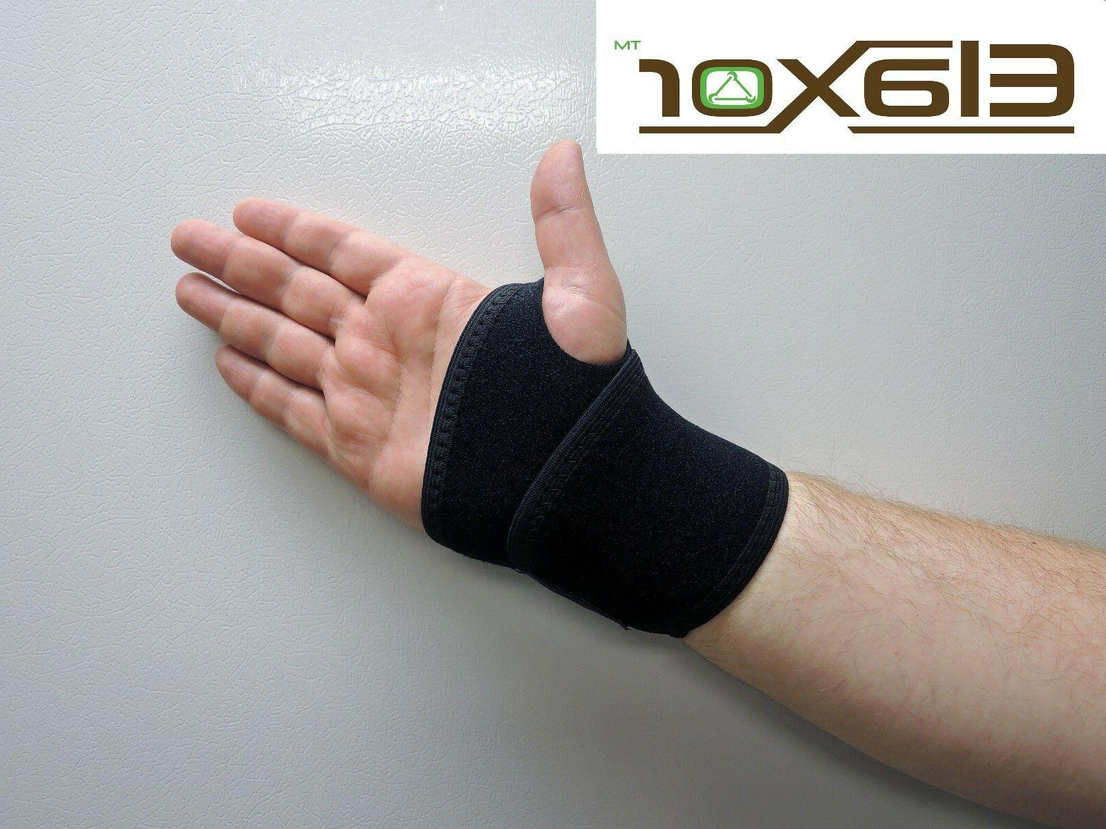 Wrist Support Tunnel Splint Black Hand One Size