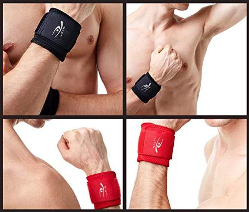HiRui and Wrist Weightlifting, Tendonitis, Carpal Arthritis, Pain Relief-Wear Size Adjustable