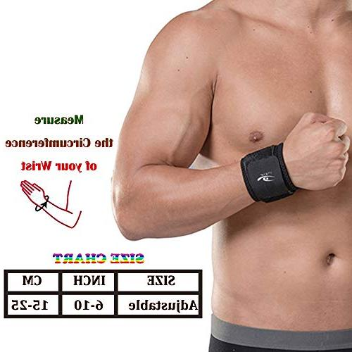 HiRui Strap and Wrist Wrist Fitness, Weightlifting, Carpal Tunnel Arthritis, Relief-Wear Size