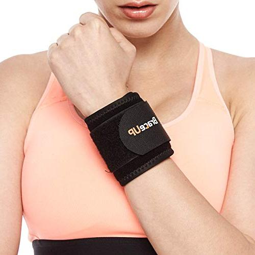 BraceUP® Wrist Compression and Support, One Adjustable 1