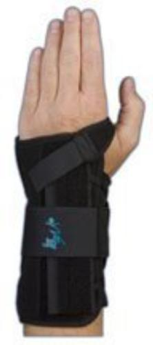 Med Spec Wrist Lacer Support, 8 Black, Universal Right by Me