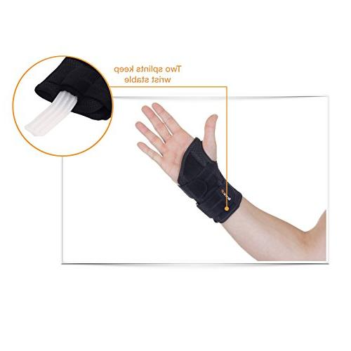 BraceUP Support Brace with for Tunnel - Right Wrist