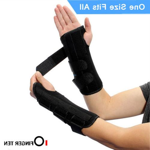 Wrist Support Sleep Carpal Tunnel Arthritis Left Right Hand