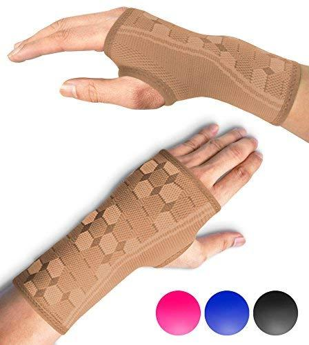 wrist support sleeves compression