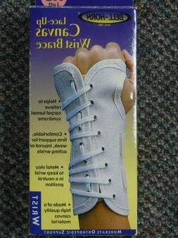 Bell-Horn lace up canvas wrist brace 87280 All sizes- Left o