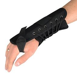 "Luxury Quick Lace 7"" Compression Splint Support Wrist Brace"