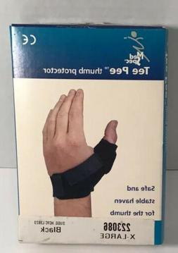 Made in USA. MedSpec Tee Pee THUMB Protector/Support Brace B