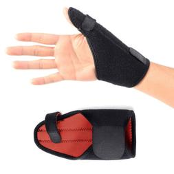 Medical Sport Wrist Thumbs Hands Spica Splint Support Brace