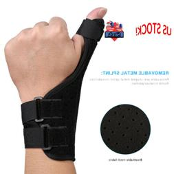 Medical Wrist Thumb Hand Spica Splint Support Brace Stabilis