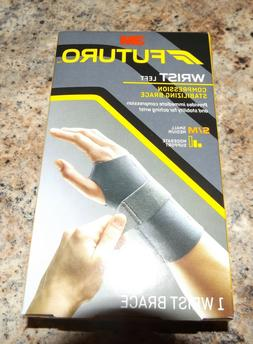 NEW 3M FUTURO LEFT WRIST COMPRESSION STABILIZING BRACE SMALL