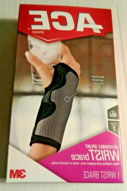ACE Reversible Splint Wrist Brace, One Size, Adjustable 2096