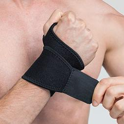 EveShine Reversible Sports Wrist Brace, Fitted Right/Left Th