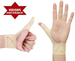 Right Hand Wrist & Thumb Support Brace Relieves Pain, Carpal